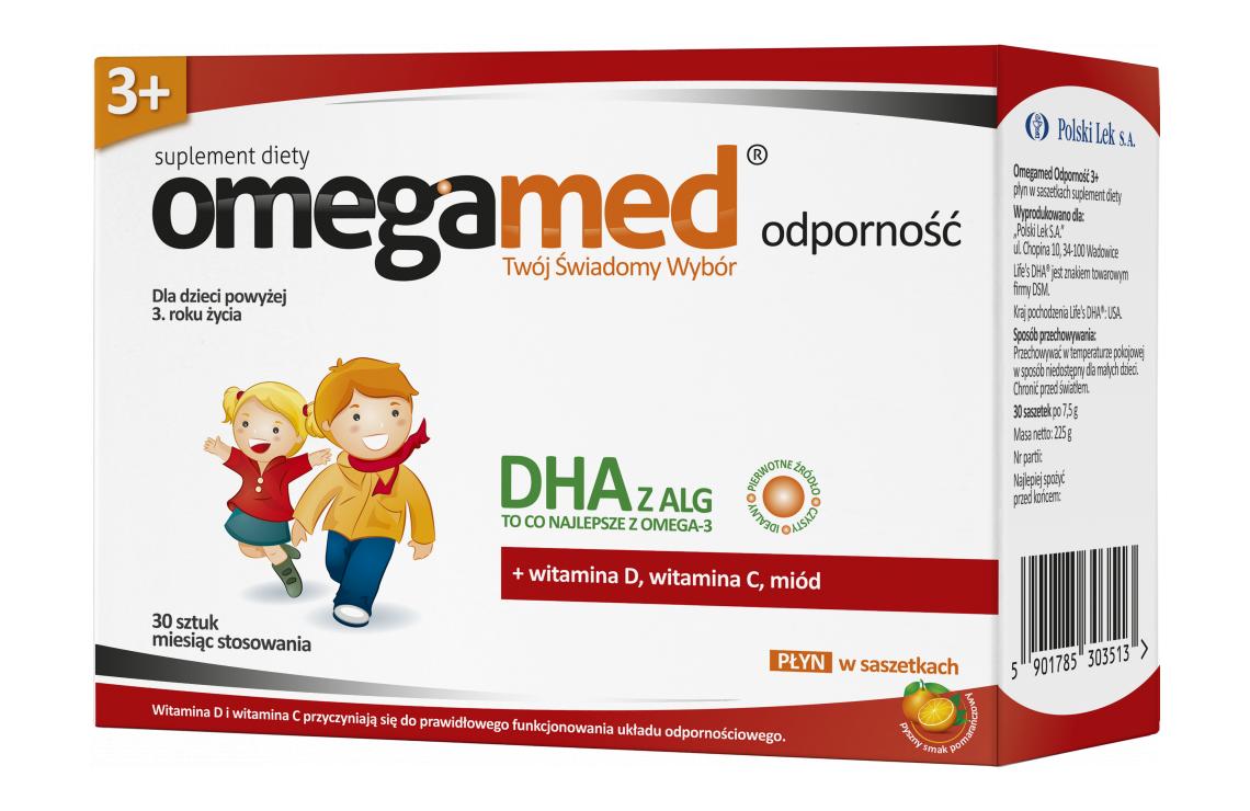 Omegamed Immunity 3 Syrup In Sachet Polski Lek S A