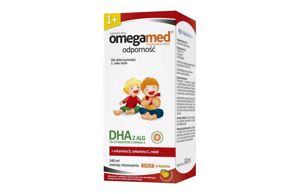 Omegamed Immunity 1 Syrup Polski Lek S A