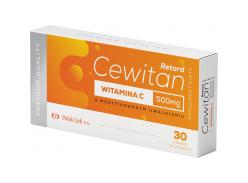 Cevitan Retard Vitamin C 500 mg