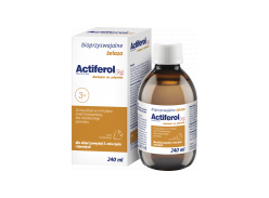 Actiferol iron in liquid formula