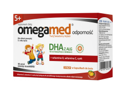 Omegamed Immunity 5+ chewable capsules