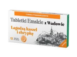 Ems tablets from Wadowice, orange flavour